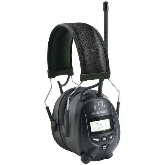 Walker's Game Ear(R) GWP-RDOM Digital AM-FM Radio Muff