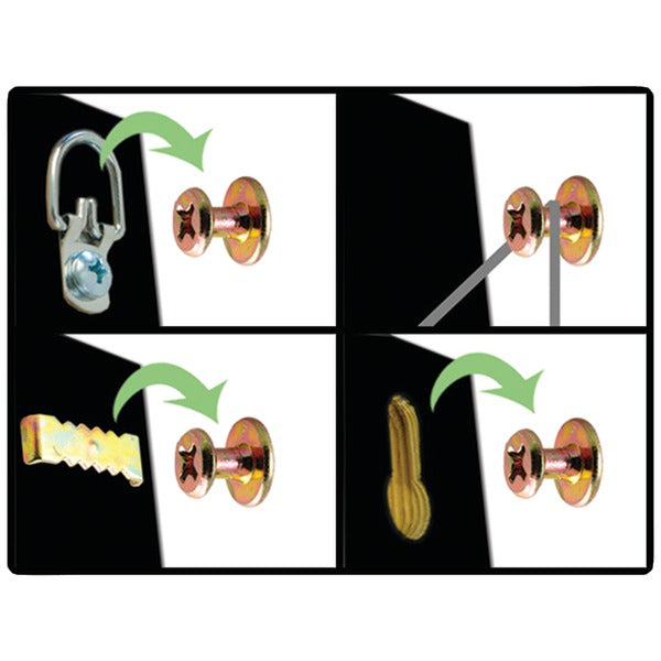 Hangman B2SK-2 71-Piece Mirror, Picture & Poster Hanging Kit