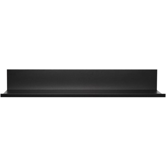 18-Inch No-Stud Floating Shelf(TM) (Black Powder Coat)