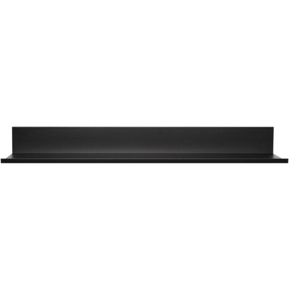 24-Inch No-Stud Floating Shelf(TM) (Black Powder Coat)