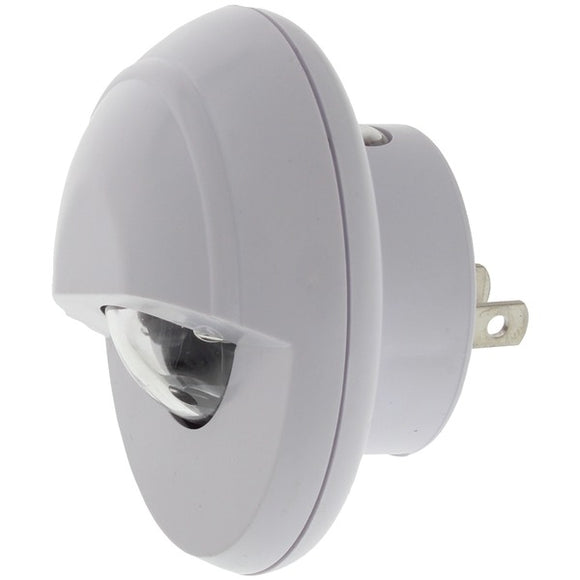Bright-Way(R) 896LED Wide-Angle Spot Rotating LED Night-Light with Night Sensor