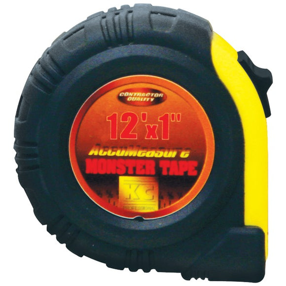 KC 90112 12ft Monster Tape Measure