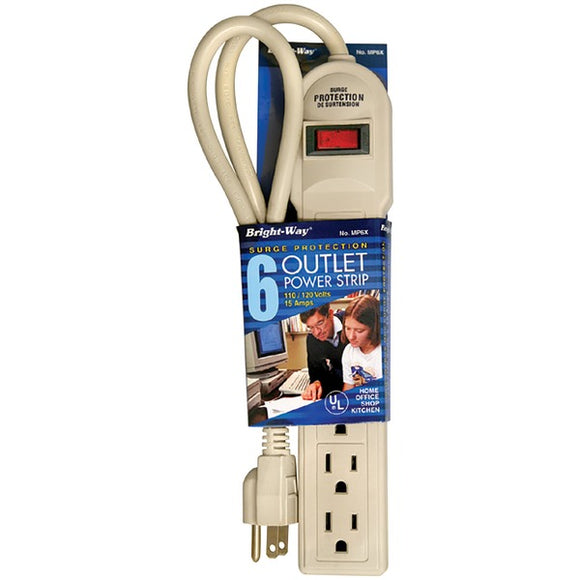 Bright-Way(R) MP6X 6-Outlet Surge Protector