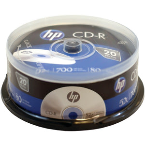 HP(R) CR52020CB 700MB CD-Rs, 20-ct Spindle