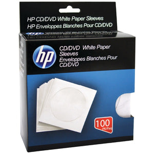 HP(R) HPWS100RB CD-DVD Storage Sleeves (100 pk)
