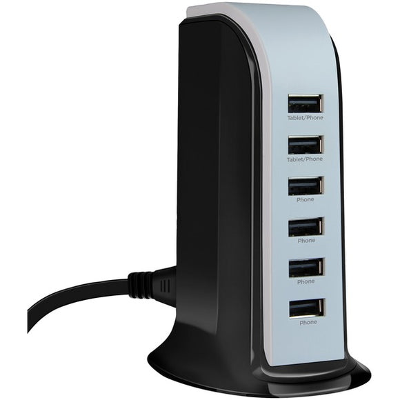 HyperGear 14300 Power Tower 6 Charging Station