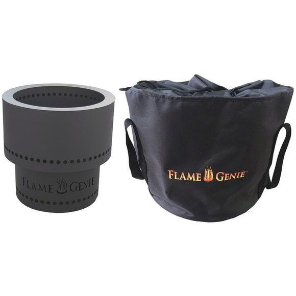 FlameGenie(TM) FG-16T Flame Genie(TM) Wood Pellet Fire Pit with Tote