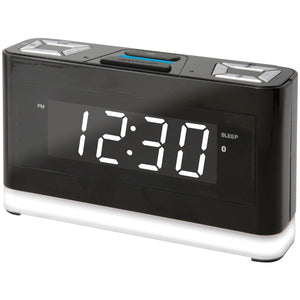 iLive Platinum ICWFV428B Bluetooth Voice-Activated Clock with Amazon Alexa Compatibility