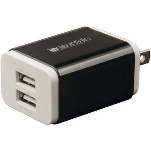 iEssentials(R) IE-ACP-2UC 3.4-Amp Dual-USB Wall Charger
