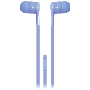 iEssentials(R) IE-BUDF2-BL Earbuds with Microphone (Blue)