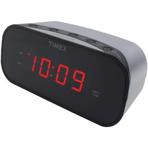Timex(R) Audio T121S Alarm Clock with .7