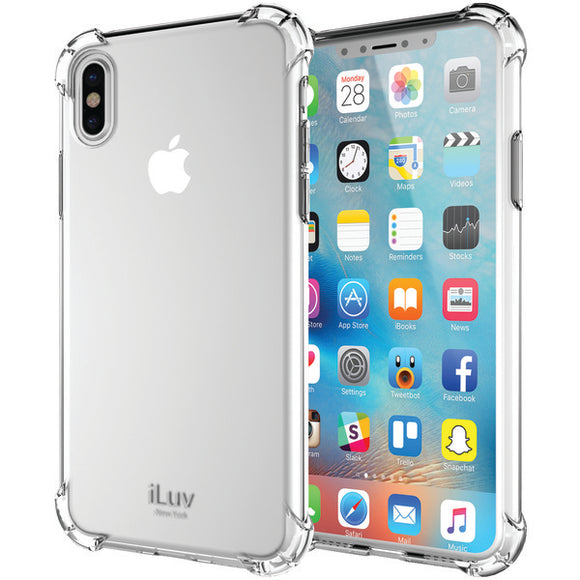 iLuv AIXGELACL Gelato Case for iPhone X (Clear)