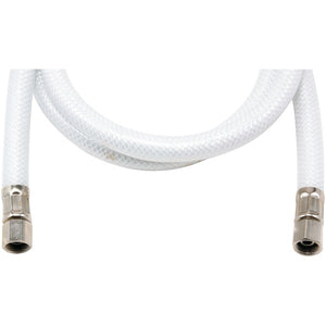"Certified Appliance Accessories(r) Certified Appliance Accessories(R) IM48P PVC Ice Maker Connector with 1 4"" Compression, 4ft"