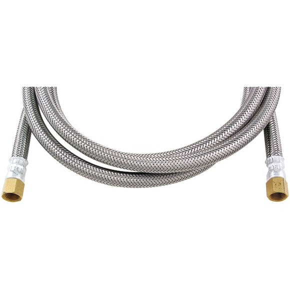 Certified Appliance Accessories(r) Certified Appliance Accessories(R) IM84SS Braided Stainless Steel Ice Maker Connector, 7ft
