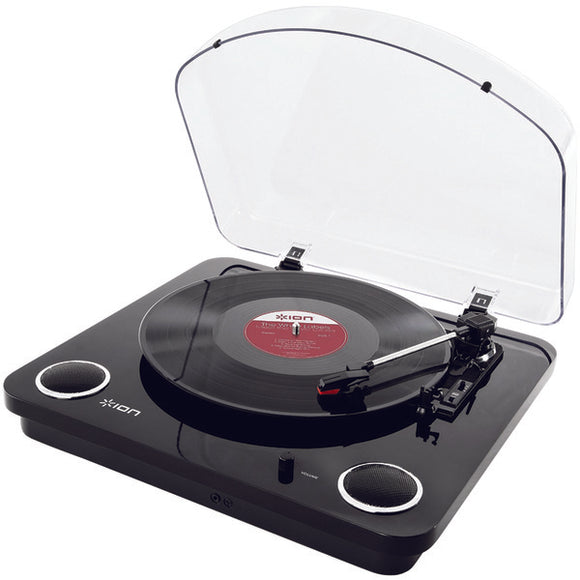 ION IT54B Max LP Conversion Turntable with Stereo Speakers