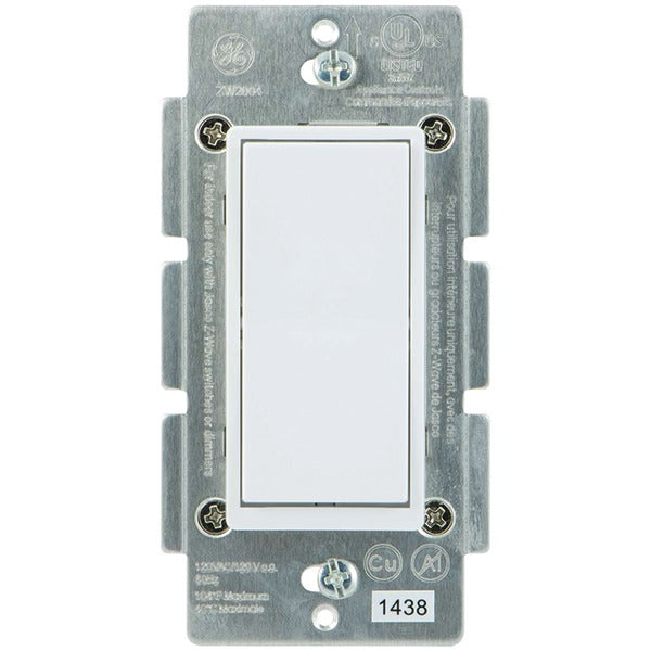 GE(R) 12723 Z-Wave(R) In-Wall 3-Way Add-on Paddle Switch