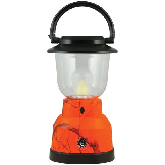 Realtree(R) 14200 350-Lumen Plus Series RealTree(R) Camouflage Lantern (4 D batteries; Orange)