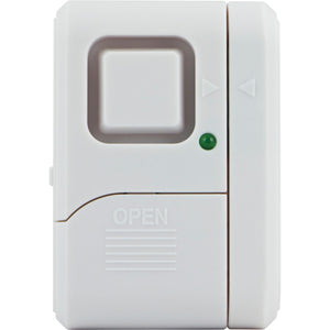 GE 56789 Magnetic Window Alarm with On-Off Indicator Light (Single)
