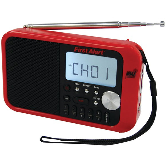 First Alert(R) SFA1100 Digital Tuning AM-FM Weather Band Radio