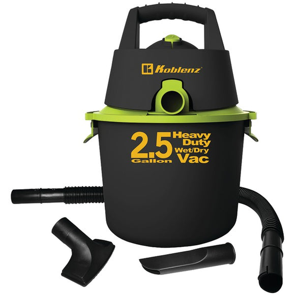 2.5-Gallon Wet-Dry Vacuum
