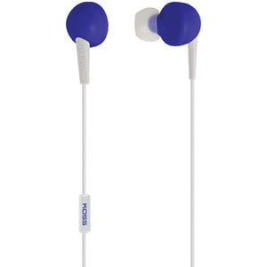 KOSS(R) 190832 KEB6i Earbuds with Microphone (Blue)