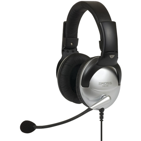 KOSS 186008 Communication Stereophone Headphones