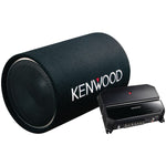 "KENWOOD P-W131TB 12"" Tube Woofer Party Pack (KAC-5207 2-Channel Amp & KFC-W1200T Subwoofer)"