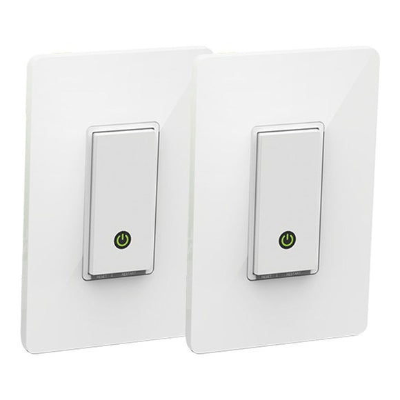 Wemo(R) Smart Light Switches, 2 Pack
