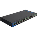 Linksys(R) LGS116P 16-Port Desktop Gigabit PoE Switch
