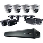 Lorex LHV00161TC4D4B 16-Channel HD 1TB DVR with 4 Bullet-4 Dome HD Cameras