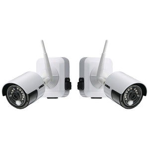 Lorex LWB3822B Add-on Rechargeable Wire-Free 1080p Security Cameras (2 Pack)