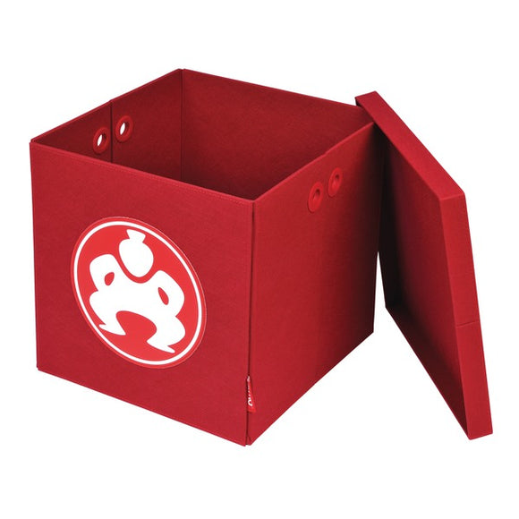 14-Inch Folding Furniture Cube (Red)