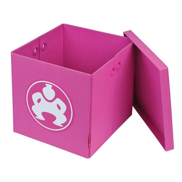 14-Inch Folding Furniture Cube (Pink)