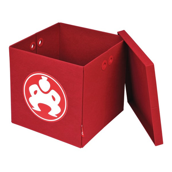 18-Inch Folding Furniture Cube (Red)