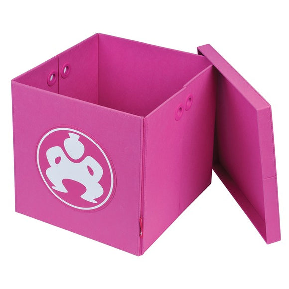 18-Inch Folding Furniture Cube (Pink)