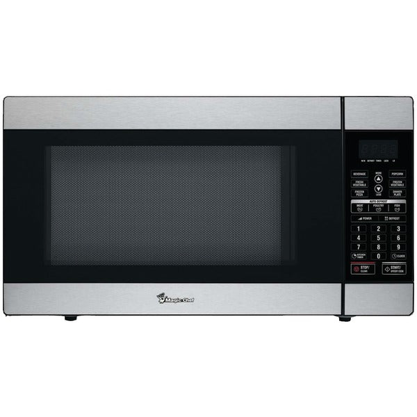 Magic Chef MCD1811ST 1.8 Cubic-ft, 1,100-Watt Stainless Steel Microwave with Digital Touch