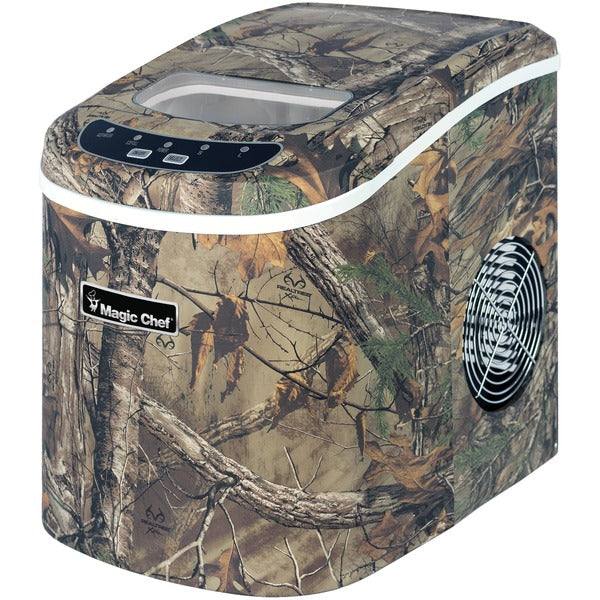 Realtree(R) MCIM22RT 27lb-Capacity Portable Ice Maker