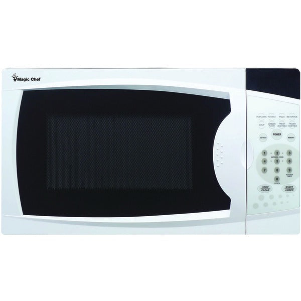 Magic Chef MCM770W .7 Cubic-ft, 700-Watt Microwave with Digital Touch (White)