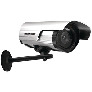 SecurityMan SM-3802 Simulated Indoor-Outdoor Camera with LED