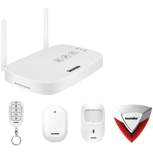 SecurityMan IWATCHALARMD IWATCHALARM Home Security Deluxe Kit