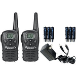 Midland  LXT118VP 18 Mile GMRS Radio Pair Value Pack with Charger & Rechargeable Batteries