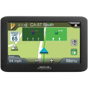 "Magellan(R) RM5630RGLUC Refurbished RoadMate(R) 5630T-LM 5"" GPS Device with Free Lifetime Maps & Traffic Alert Updates"