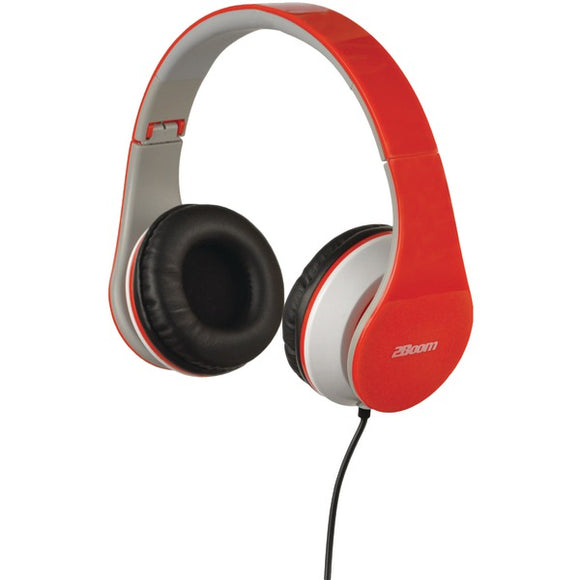 2boom hpm100r hpm100 professional sound bluetooth headphones red
