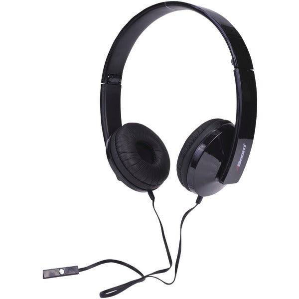 2boom hpm520k solo note headphones with microphone black 1
