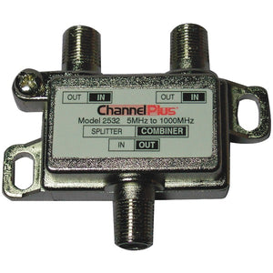 Channelplus ChannelPlus 2532 Splitter Combiner (2 way)