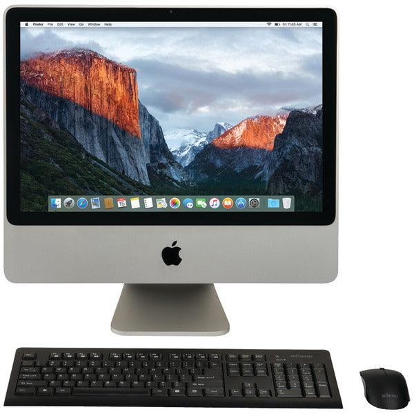 apple ma876 c2d 4 250 refurbished 20 imacr desktop computer