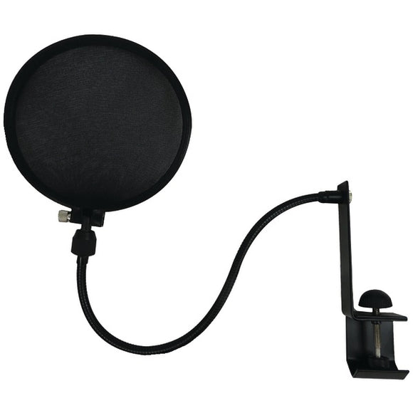 Microphone Pop Filter with Boom & Stand Clamp