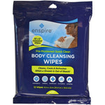 "Enspire Enspire E1012QC 10"" x 12"" Body Cleansing Wipes, 12 pk"