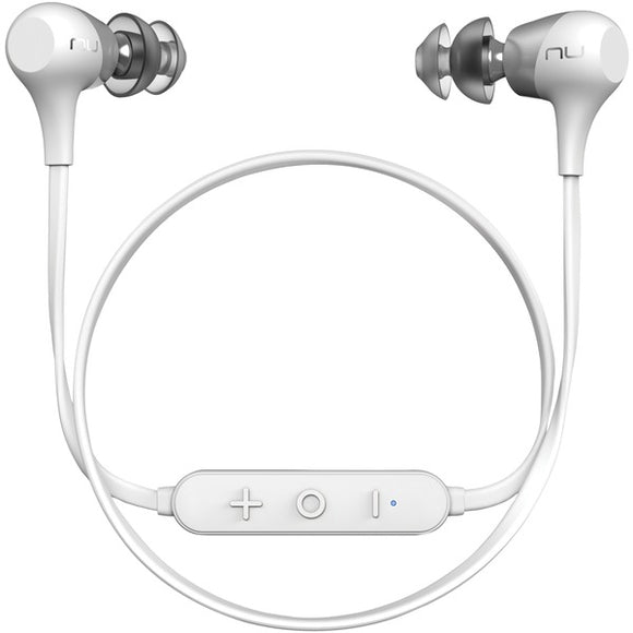 Nuforce NuForce BE2 WHITE BE2 Affordable Bluetooth In Ear Headphones (White)