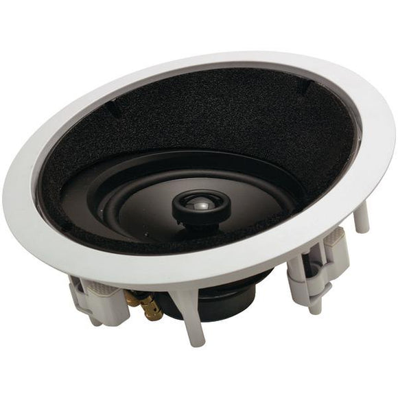 architechr ap 615 lcrs 6 5 2 way round angled in ceiling lcr loudspeaker